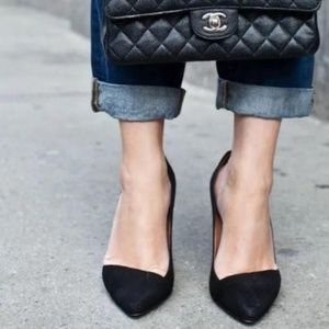 Madewell Mira Suede Pumps